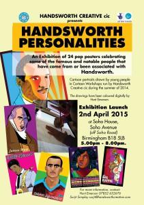 Exhibition invitation small